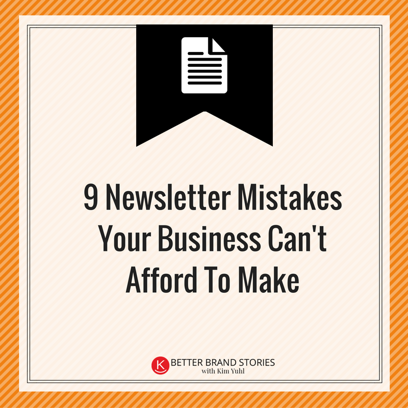 newsletter-mistakes